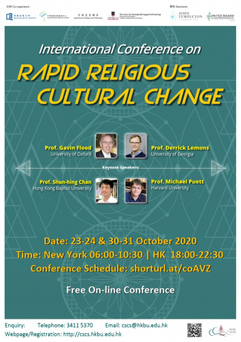 "International Conference on ""Rapid Religious Cultural Change"""