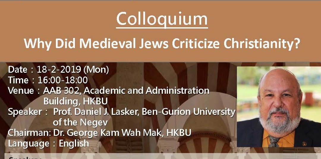 Why did Medieval Jews Criticize Christianity?