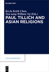 book cover of paul tillich and asian religions